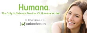 in-network provider for Humana and Select Health