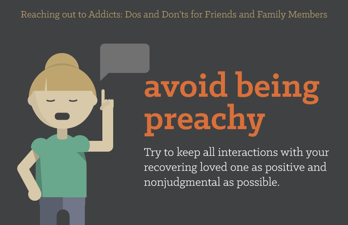 avoid being preachy