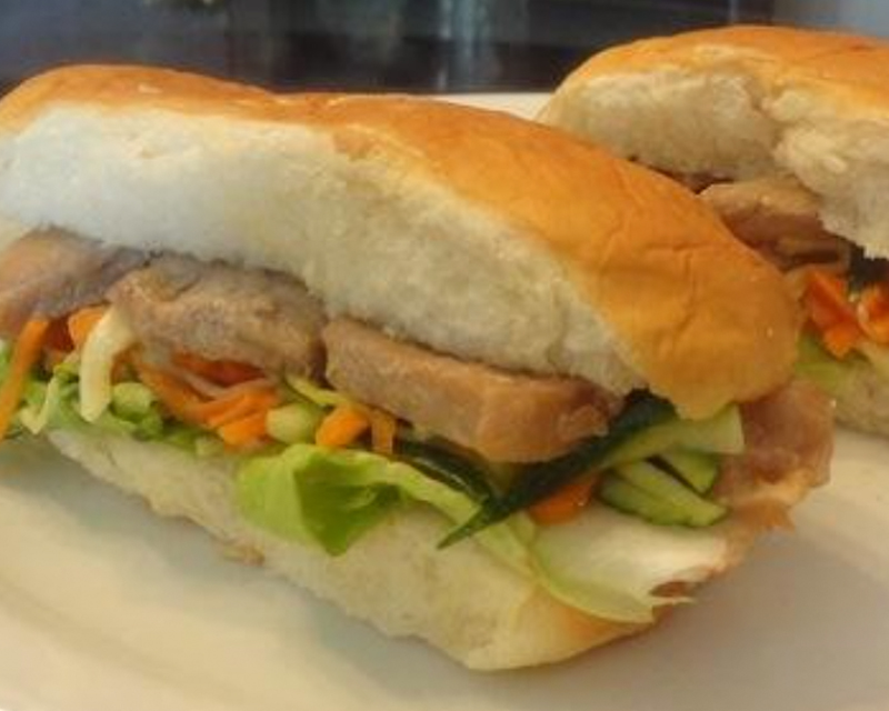 Teriyaki Mayonnaise Pork Sandwich