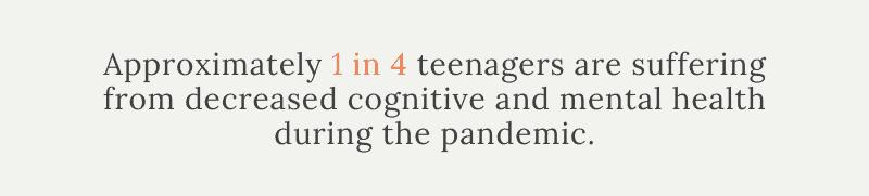 Teenagers Pandemic Mental Health